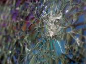 Bulletproof glass — Stock Photo