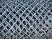 Roll of Wire fence — Stock Photo