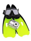 Underwater photography equipment — Stock Photo
