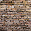 Rustic brick wall — Stock Photo
