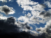 Dramatic cloudscape — Stock Photo