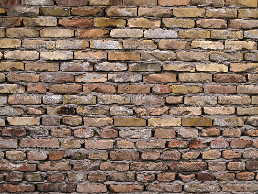 Rustic brick wall background photo by borismrdja pictures