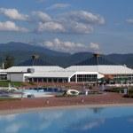 Health and spa center in Sarajevo — Stock Photo