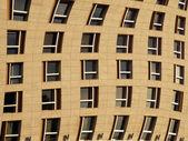 Warped building exterior — Stock Photo