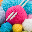 Wool clews - Stock Photo