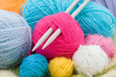 Wool clews — Stock Photo