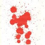 血の滴 — ストック写真