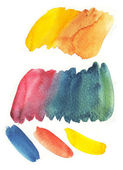 Watercolor palettes — Stock Photo