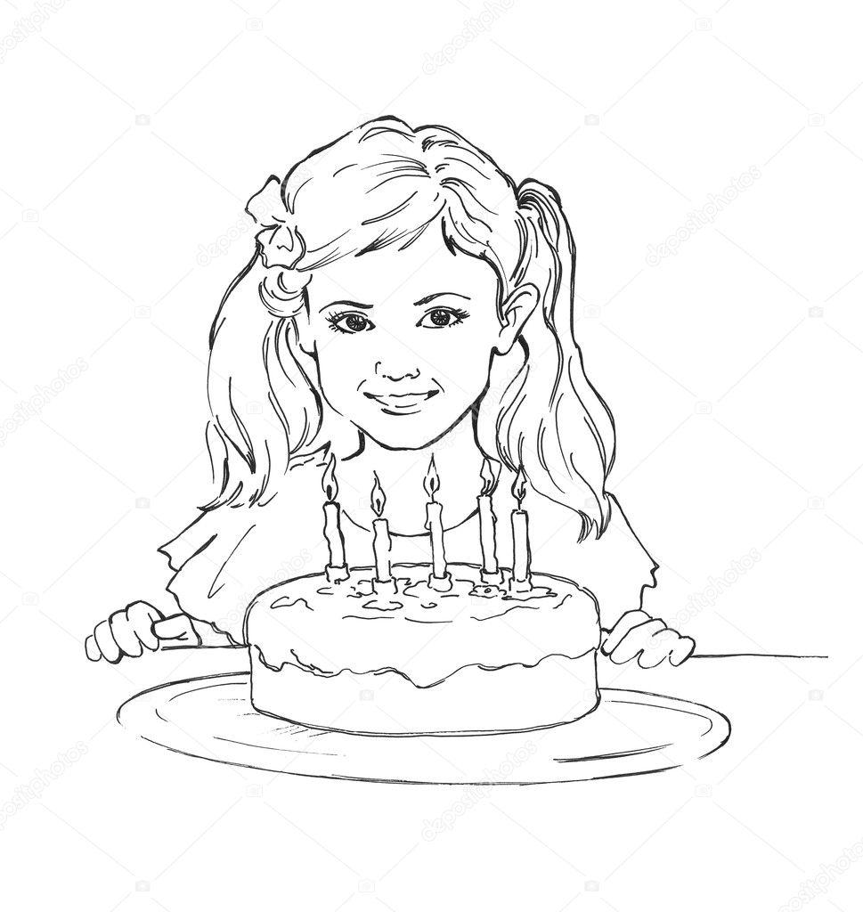 Birthday Party Outdoors Stock Photo Auto Electrical Wiring Diagram Maxon Lift 080552650 Girl U0026 39 S U2014 2233207