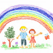 Summer rainbow — Stock Photo #2265896