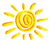 Símbolo do sol — Fotografia Stock
