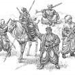 Cossacks illustration — Stock Photo