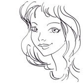 Cute girl portrait — Stock Photo