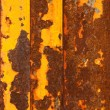Rusty metallic planks — Stock Photo