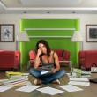 Boring paperwork - Stock Photo