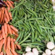 Vegetables stall — Stock Photo