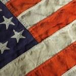 Vintage USA Flag — Stock Photo