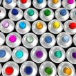 Aerosol cans — Stock Photo