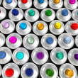 Stock Photo: Aerosol cans