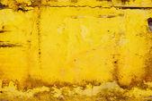 Superficie sporca di giallo — Foto Stock