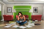 Boring paperwork — ストック写真