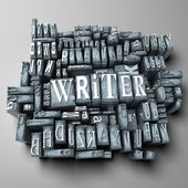 Writer — Stock Photo