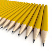 Orange pencils — Stock Photo