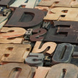 Wooden letters — Stock Photo #2200442