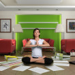 Zen paperwork - Stock Photo