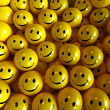 Yellow happy smilies — Stock Photo #2202075
