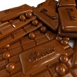 Stock Photo: Chocolate addiction