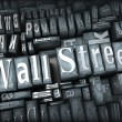 Stock Photo: Wall St