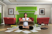 Zen paperwork — Stock Photo