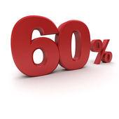 60% — Stock Photo