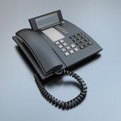 Black Business phone — Stock Photo