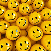 Happy faces — Stock Photo