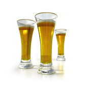 Drei Liter Bier — Stockfoto