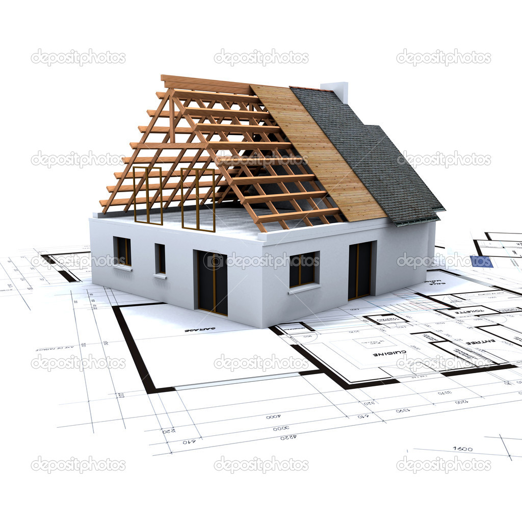 Фото строительства дома от фундамента до крыши