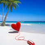 Romantic trip booking — Stock Photo #2317520