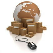 Global consignment — Stock Photo