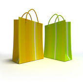 Shopping duo — Stock Photo