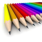 Sketch kalemler düzenleme — Stok fotoğraf