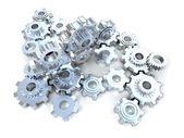 Silver mechanism — Stock Photo