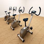 Spinning bikes — Stock Photo