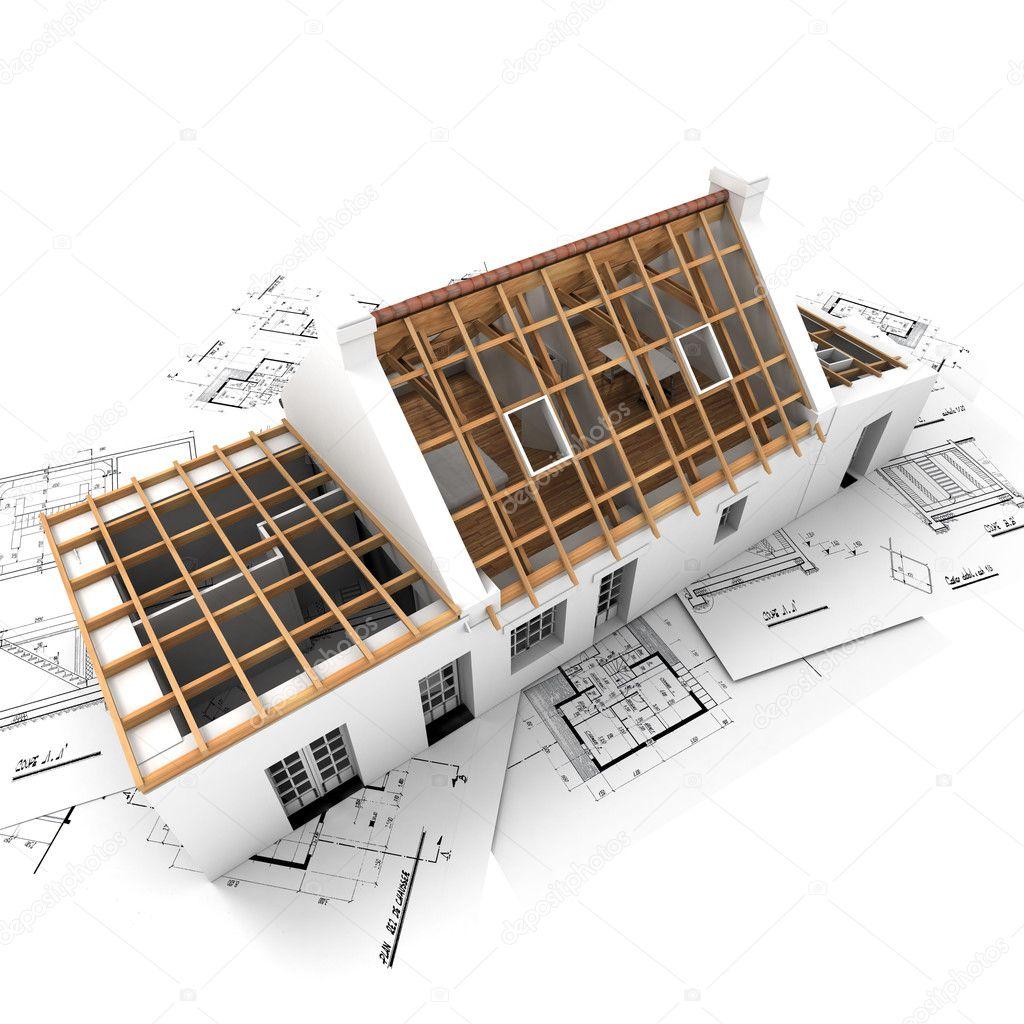 屋顶结构 — 图库照片08franckito#2317455