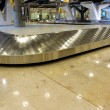 Stock Photo: Airport Baggage claim empty