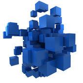 Blue blocs — Stock Photo