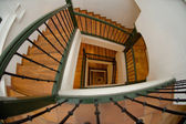 Down the stairs — Stock Photo