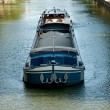 Canal Boat - Stock Photo