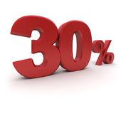 30% — Stock Photo